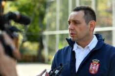 Министар Вулин: Учинићемо све да се квалитет живота припадника Министарства одбране и Војске Србије побољша