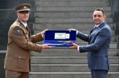 Свечаност поводом завршетка Командно-штабног усавршавања официра 65. класе