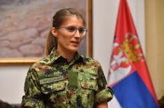 Пријем за спортисте Војске Србије