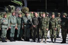 Председник Вучић: Војска Србије увек је била одраз снаге Србије