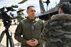Обука војних пилота и кадета на Аеродрому Морава