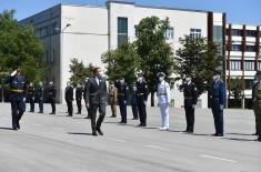 Свечаност поводом завршетка школовања полазника 9. класе ВСБО и официра 63. класе ГШУ