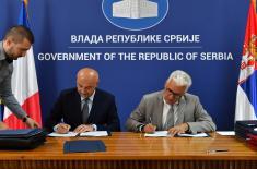 Потписани споразуми у области одбране са представницима Француске