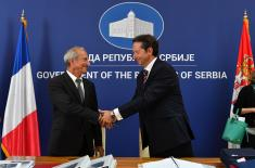 Agreements in the Field of Defence Signed with Representatives of France