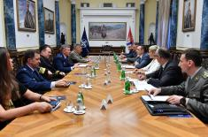 Meeting of Minister Vulin and General Wolters