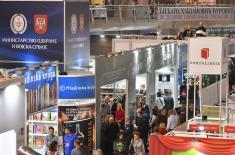 Oтворен штанд Министарства одбране и Војске Србије на Сајму књига