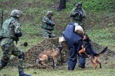 Обилазак 5. батаљона војне полиције