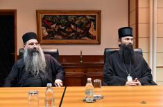 Ministar Vulin i episkop Ilarion zadovoljni radom verske službe