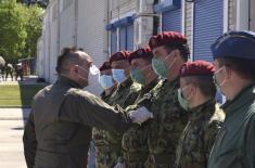 Министар Вулин: Припадници 63. падобранске бригаде, сигурни и способни, опремљени и у стању да испуне било који задатак који се стави пред њих