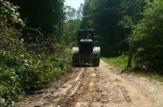Војска Србије помогла становништву у општини Блаце