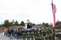 Помен погинулим припадницима  126. бригаде ВОЈИН