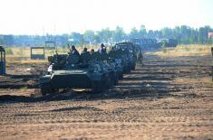 Припадници Војске Србије на вежби Западног војног округа у Русији