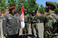 """Војници генерације """"јун 2020"""" положили војничку заклетву"""