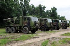 Modernized rocket artillery