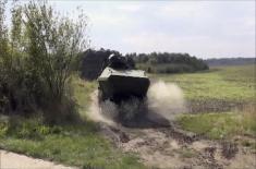 Модернизација борбених-оклопних возила (БОВ-3) у командно-извиђачка возила (КИВ)