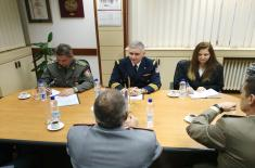Expert Talks with the Representatives of Joint Forces Command Naples