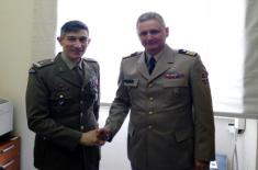 Intensification of defence cooperation with Italy