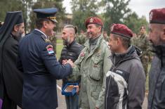 Obeležavanje Dana 63. padobranske brigade