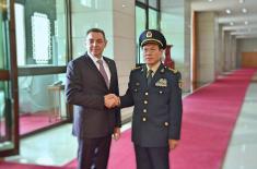 Министар одбране Кине Веи Фенгхе: Србија има величанствену војску и народ
