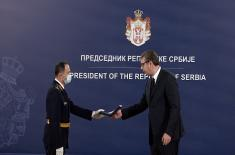 Ministry of Defence and Serbian Armed Forces' members receive decorations