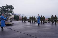Почасна артиљеријска паљба и променадни дефилеи поводом Дана државности