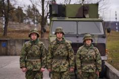 Обука војника у руковању уређајима из система телекомуникације