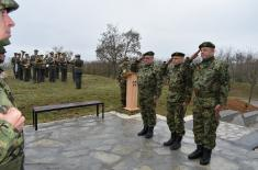 Обележена 20. годишњица погибије припадника 78. моторизоване бригаде