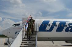 Смена српског контингента у Либану