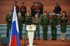 Medalje za kadete Vojne akademije na atletskom mitingu u Moskvi