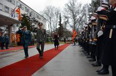 Načelnik Generalštaba u poseti Severnoj Makedoniji