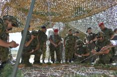 Visit from Commander of the EU Battle Group HELBROC