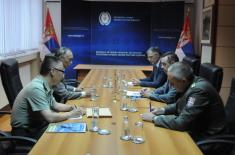 Sastanak ministra odbrane i ambasadora Kine