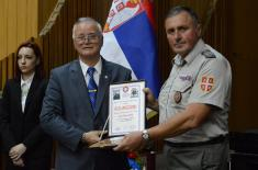Military Pensioners Presented the Highest Recognition to Minister Vulin