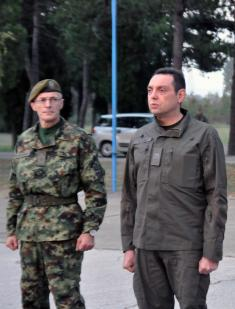 Министар Вулин: Војска Србије је спремна да брзо и одлучно изврши наређења врховног команданта