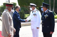 Meeting between ministers Stefanović and Zaki