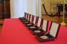 Medallions of the Ministry of Defence for the Members Who Excelled in Rescue Missions