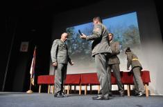 Војне споменице уручене припадницима 549. моторизоване бригаде