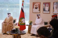 Састанак министра Стефановића са државним министром одбране Уједињених Арапских Емирата