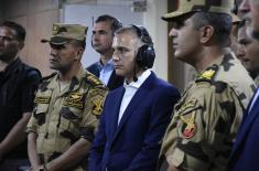 Министар Стефановић завршио тродневну званичну посету Египту