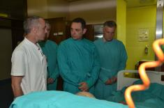 Minister Vulin Visited Injured Workers from Lučani