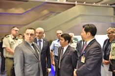 Minister Vulin in Beijing: Serbian Armed Forces to catch up with the world