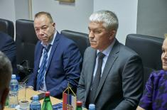 Expert Talks with Representatives of the Ministry of Defence of the Russian Federation