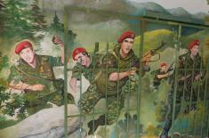Свечаност поводом Дана војних падобранаца