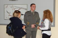 Presentation of military profession and military schools in Vranje