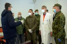 Minister Vulin in Niš: Serbian Armed Forces have done everything necessary to adapt Čair Hall to the purpose of treatment