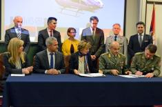 Contract with Airbus Helicopters