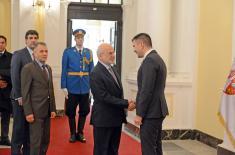 Састанак министра Ђорђевића са министром иностраних послова Ирака