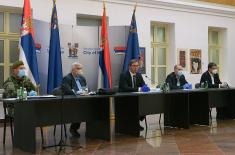 President Vučić in Niš: I have come to show that I am there for my people