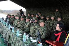 Landing of manpower and materiel within Slavic Brotherhood 2016 exercise