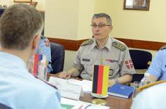 Посета представника Савезног министарства одбране Немачке